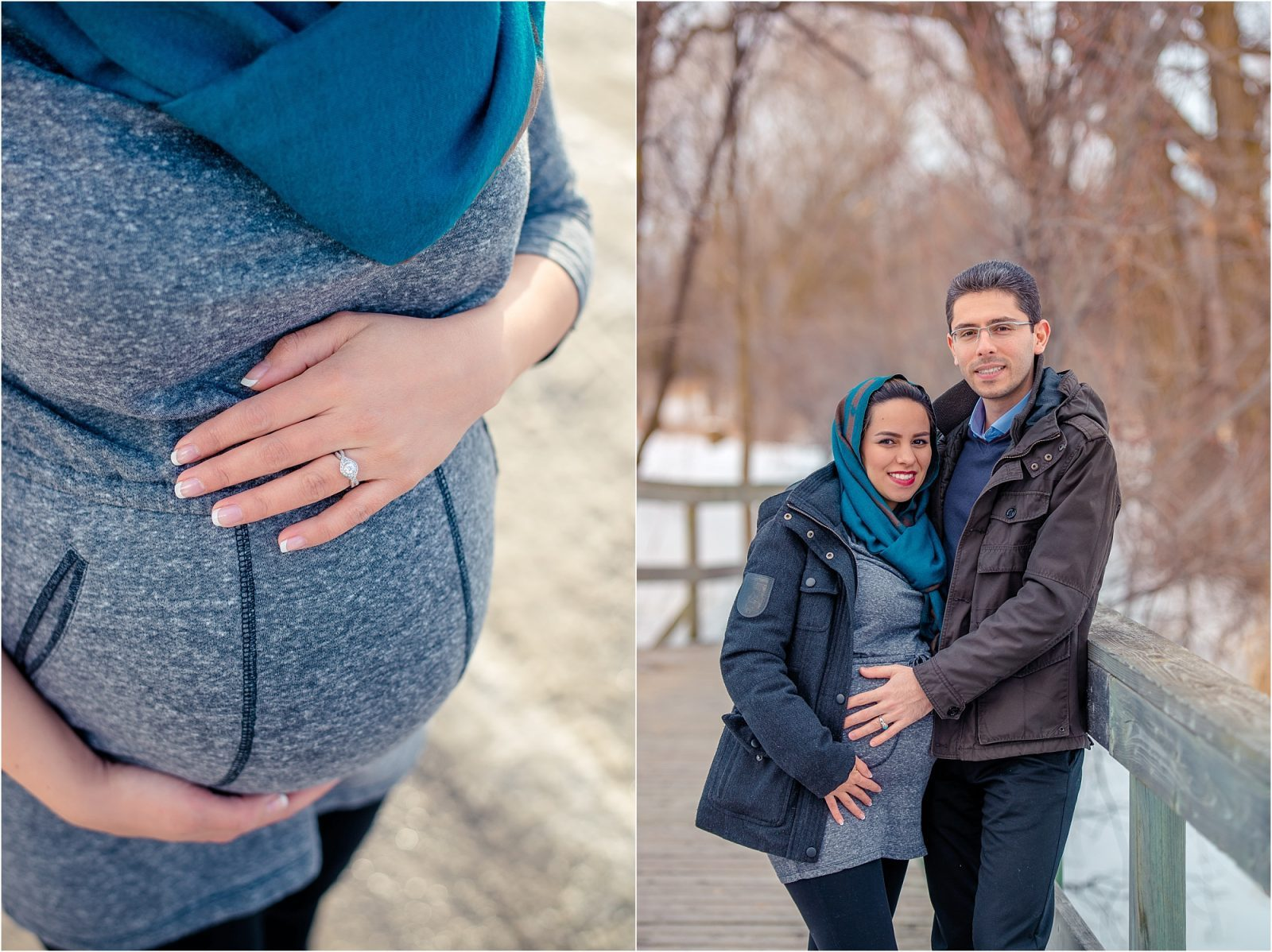 Ottawa maternity photography in winter - chapman mills conservation (1)