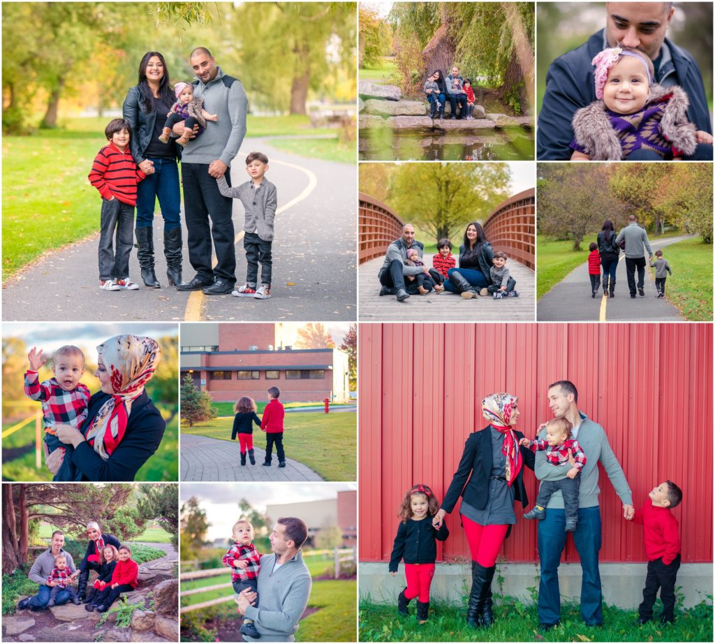 Ottawa family photo - lifestyle - central experimental farm, fall family